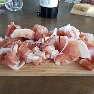 Prosciutto Crudo in Italy