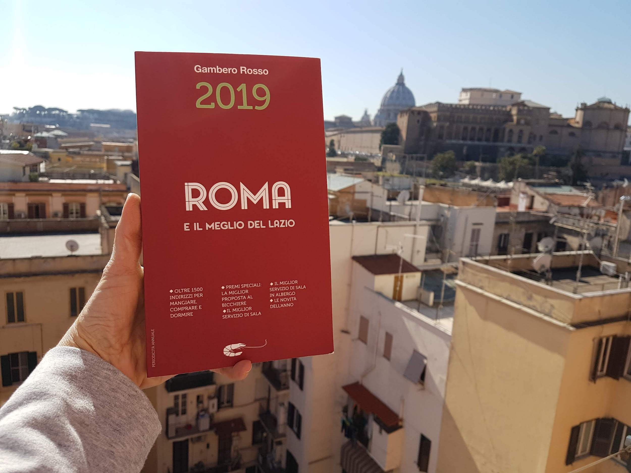 The Gambero Rosso Rome and lazio guidebook