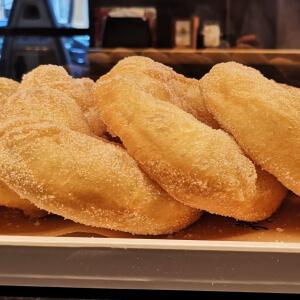 Traditional Italian Fried Doughnuts for Breakfast