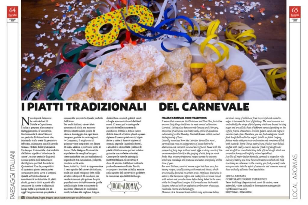 Italian carnival food traditions