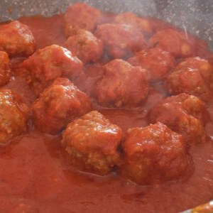 Meatballs in Tomato Sauce Recipe