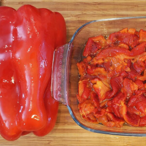 Easy Roasted Bell Peppers