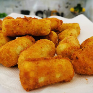 Italian Potato Croquettes Recipe
