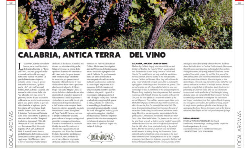 Wines from Calabria Italy