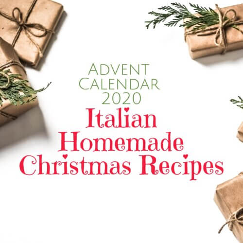 Italian Homemade Christmas Recipes Advent Calendar