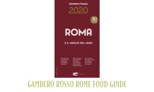 Gambero Rosso Rome food guide