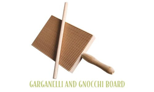 Garganelli and gnocchi board