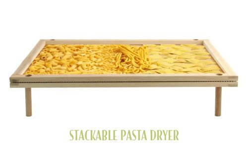 Stackable pasta dryer