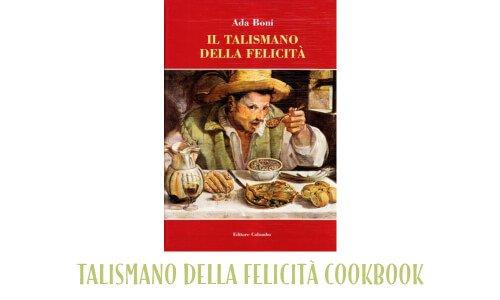 Talismano della felicita cookbook