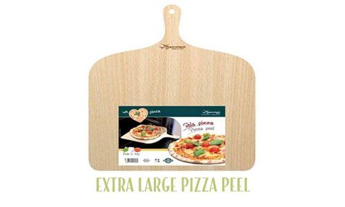 Extra large pizza peel